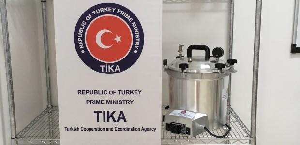 """""""تيكا"""" التركية تفتتح مختبرا بيولوجيا في هندوراس - 6"""
