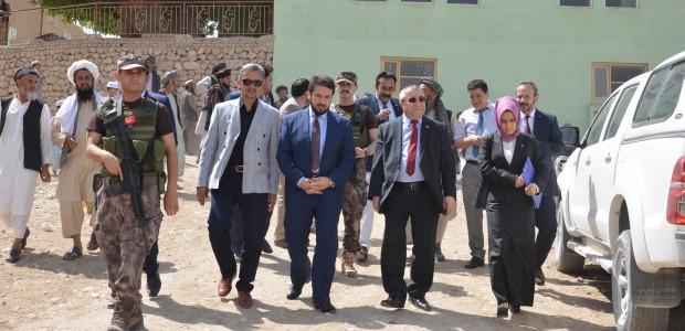 """""""تيكا"""" التركية تضع حجر الأساس لدار أيتام في أفغانستان - 1"""
