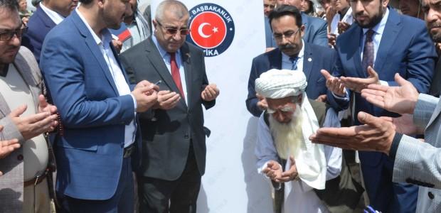 """""""تيكا"""" التركية تضع حجر الأساس لدار أيتام في أفغانستان - 3"""