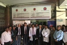 TİKA Continues Operations in Health Sector in Bangladesh