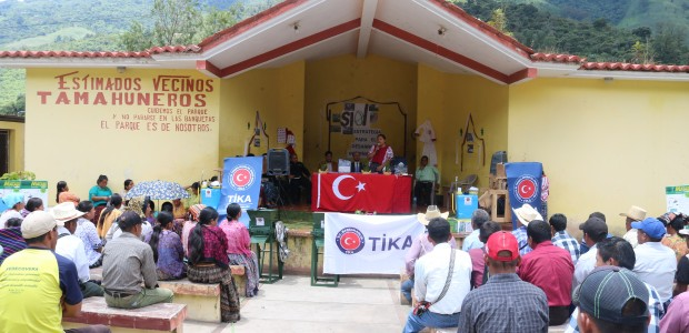 TİKA Donates Agricultural Equipment to Mayan Farmers - 1