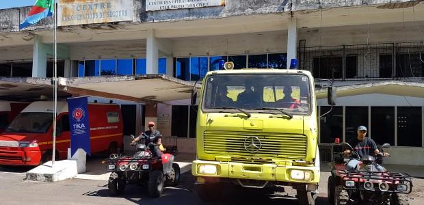 """""""تيكا"""" التركية تقيم دورة لتدريب رجال إطفاء من جزر القمر - 1"""