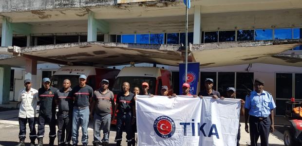 """""""تيكا"""" التركية تقيم دورة لتدريب رجال إطفاء من جزر القمر - 3"""