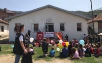 TİKA'nın Gönüllü Elçileri Makedonya'da Okul Onardı