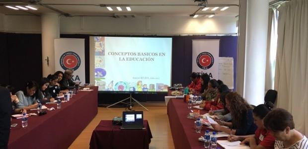 TİKA'dan Meksika Eğitim Bakanlığına Yönelik Tecrübe Aktarım Programı - 1