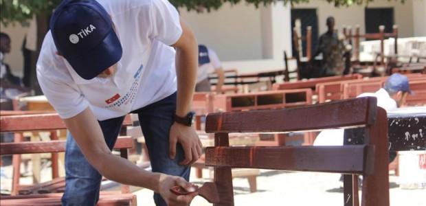 طلاب أتراك يشاركون في ترميم دار ومدرسة للأيتام في مقديشو - 3