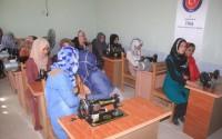 """""""تيكا"""" التركية تفتتح دورات مهنية لتأهيل السيدات في أفغانستان"""