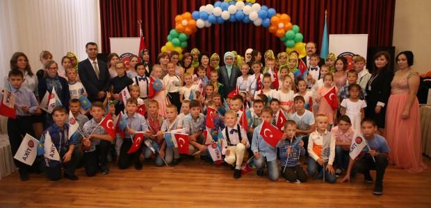 Emine Erdoğan, Astana Çocuk Evi ve Yetimhanesini Ziyaret Etti  - 8