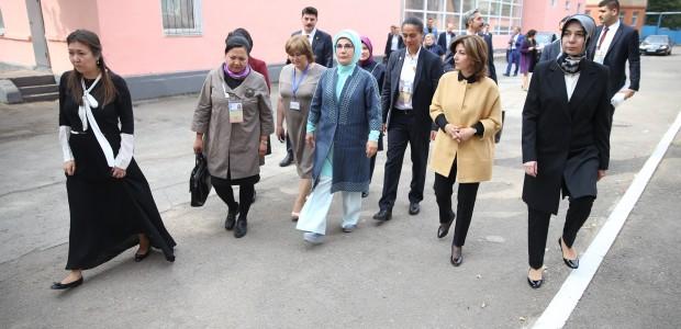 Emine Erdoğan, Astana Çocuk Evi ve Yetimhanesini Ziyaret Etti  - 2