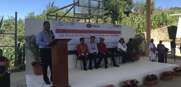TİKA'dan Meksika'nın Chiapas Eyaletindeki 8 Köy Okuluna Kütüphane Kurulumu - 1