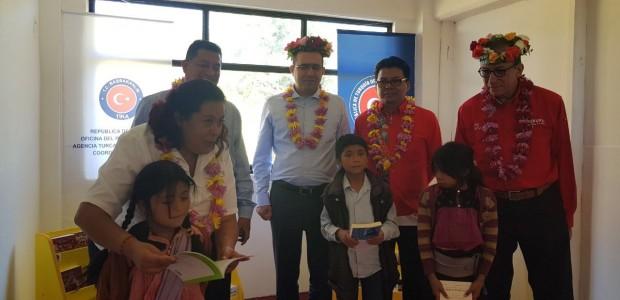 TİKA'dan Meksika'nın Chiapas Eyaletindeki 8 Köy Okuluna Kütüphane Kurulumu - 3
