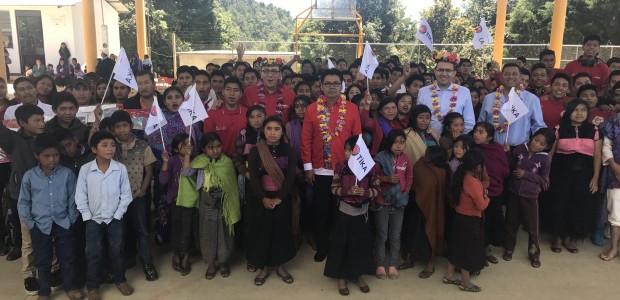 TİKA'dan Meksika'nın Chiapas Eyaletindeki 8 Köy Okuluna Kütüphane Kurulumu - 2