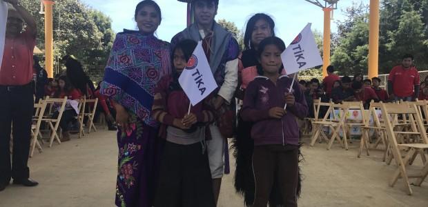 TİKA'dan Meksika'nın Chiapas Eyaletindeki 8 Köy Okuluna Kütüphane Kurulumu - 4
