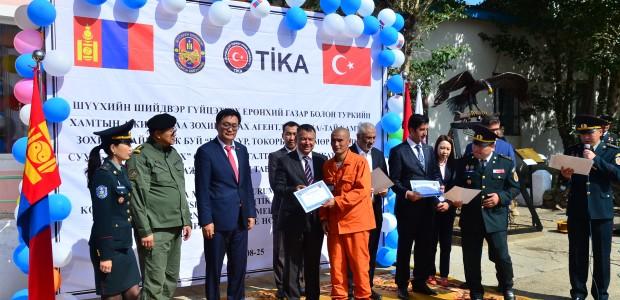 Moğolistan'da Mahkumlara Yönelik Meslek Edindirme Projesi - 3