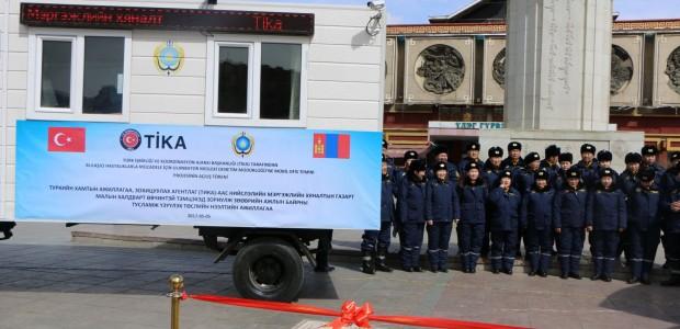 """""""تيكا"""" التركية تقدم مكاتب متنقلة لمراقبة أمراض الحيوانات والنباتات المعدية في منغوليا - 3"""
