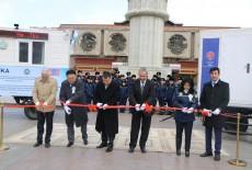 Moğolistan'da Ulanbator Mesleki Denetim Müdürlüğü'ne Mobil Ofis Desteği