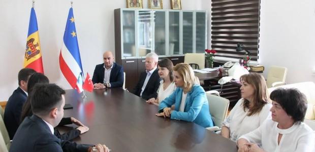 Moldova'da TİKA'ya Üstün Hizmet Madalyası  - 1