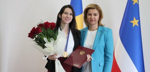Moldova'da TİKA'ya Üstün Hizmet Madalyası  - 2
