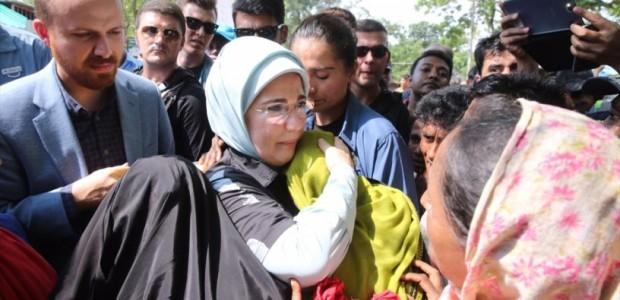تركيا ترسل أطنانا من الأغذية إلى الروهنغيا في أراكان وبنغلاديش بواسطة تيكا - 3