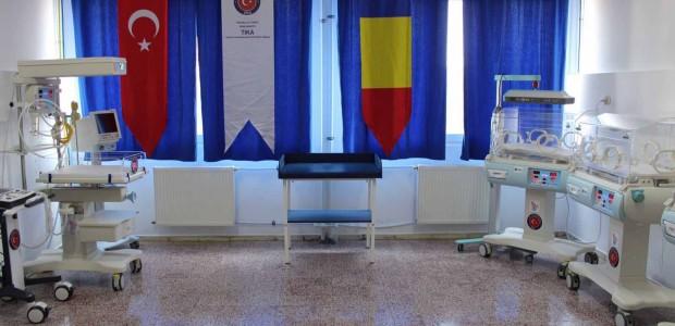 Romanya'da Tulça İl Hastanesi'ne Tıbbi Ekipman Desteği - 4