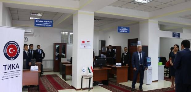 Tacikistan Dışişleri Bakanlığı'na Donanım Desteği - 3