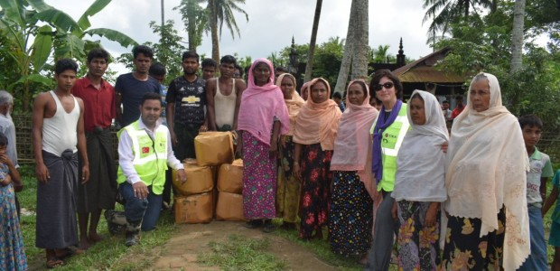 TİKA Continues to Deliver Aid to Rohingya Muslims in Myanmar - 1