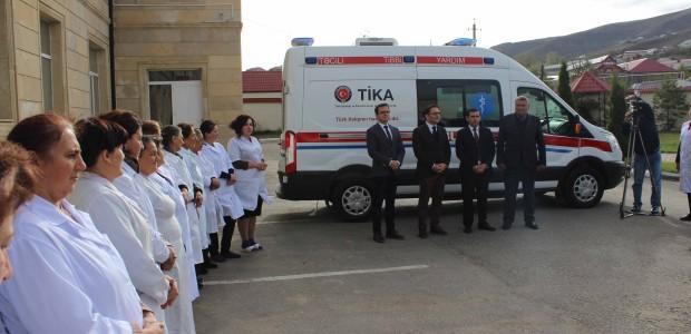 Azerbaycan'da Acil Tıbbi Yardım Altyapısına TİKA Desteği - 1