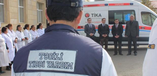 Azerbaycan'da Acil Tıbbi Yardım Altyapısına TİKA Desteği - 2