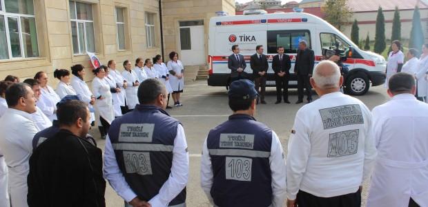 Azerbaycan'da Acil Tıbbi Yardım Altyapısına TİKA Desteği - 3