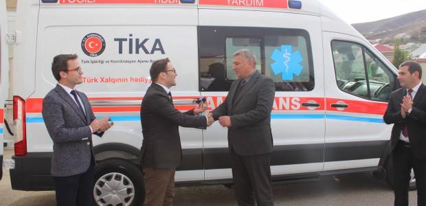 Azerbaycan'da Acil Tıbbi Yardım Altyapısına TİKA Desteği - 4