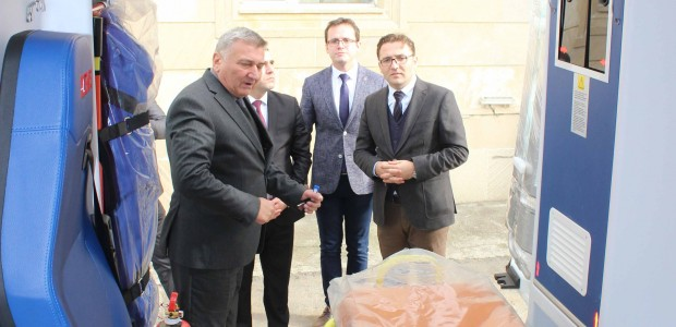 Azerbaycan'da Acil Tıbbi Yardım Altyapısına TİKA Desteği - 5