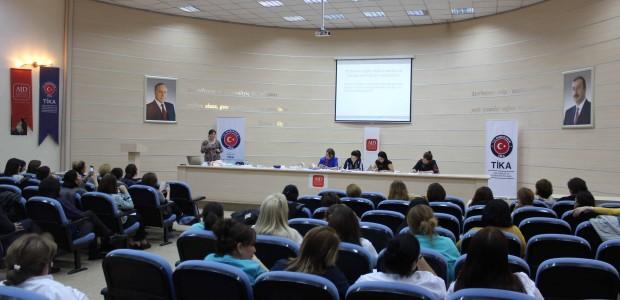 """""""تيكا"""" التركية تنظم دورة تدريبية للعاملين بقطاع الصحة في أذربيجان - 9"""