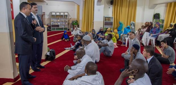 """""""تيكا"""" التركية تقدم تجهيزات لمسجد الصحابي بلال الحبشي في البرازيل - 4"""
