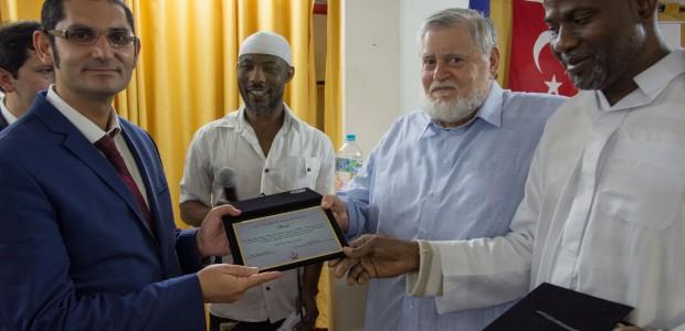 """""""تيكا"""" التركية تقدم تجهيزات لمسجد الصحابي بلال الحبشي في البرازيل - 5"""