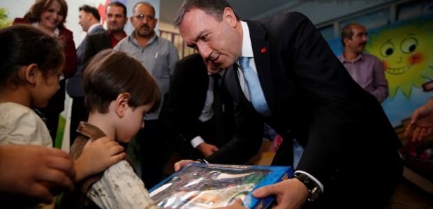 """""""تيكا"""" التركية تعيد افتتاح روضة أطفال في بغداد بعد ترميمها - 6"""