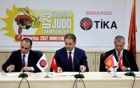 Karadağ'da Avrupa Judo Şampiyonası'na TİKA Desteği