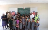 Namibya'da Tsumkwe Bölgesi San Toplulukları Kırsal Kalkınma Programı Devam Ediyor