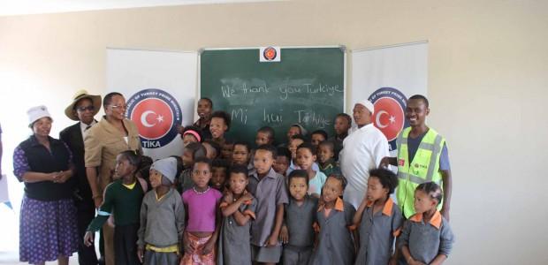 Namibya'da Tsumkwe Bölgesi San Toplulukları Kırsal Kalkınma Programı Devam Ediyor - 6
