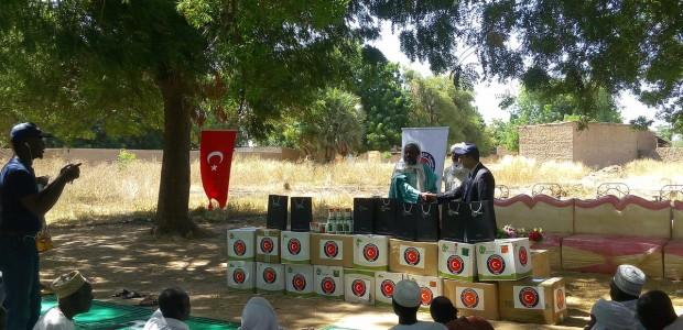 """""""تيكا"""" التركية تقدم مساعدات زراعية وتعليمية في تشاد ورومانيا - 1"""
