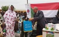 """تيكا التركية توزع بذورا ومعدات زارعية في ولاية """"دارفور"""" غربي السودان"""