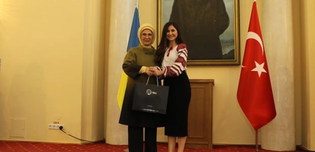 """أمينة أردوغان تفتتح مشاريعًا لـ""""تيكا"""" التركية بإحدى الجامعات الأوكرانية - 10"""