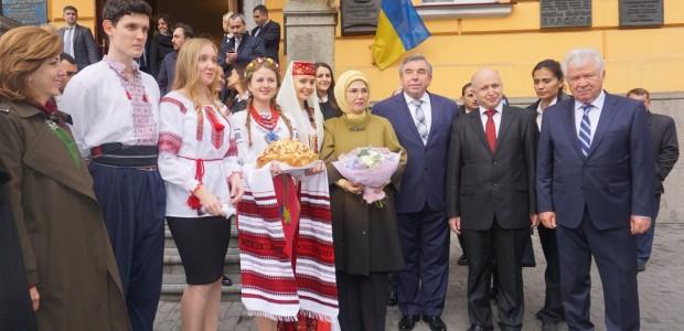 """أمينة أردوغان تفتتح مشاريعًا لـ""""تيكا"""" التركية بإحدى الجامعات الأوكرانية - 2"""
