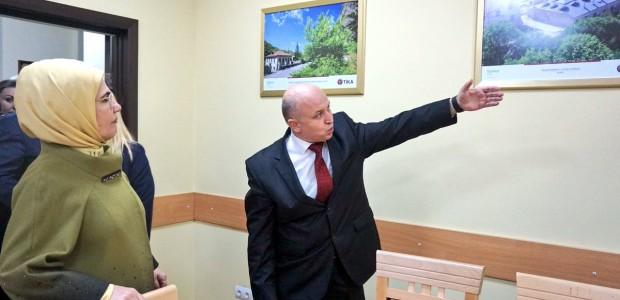 """أمينة أردوغان تفتتح مشاريعًا لـ""""تيكا"""" التركية بإحدى الجامعات الأوكرانية - 5"""