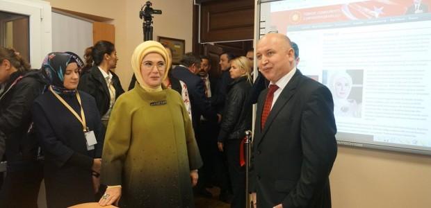 """أمينة أردوغان تفتتح مشاريعًا لـ""""تيكا"""" التركية بإحدى الجامعات الأوكرانية - 6"""