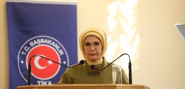 """أمينة أردوغان تفتتح مشاريعًا لـ""""تيكا"""" التركية بإحدى الجامعات الأوكرانية - 9"""