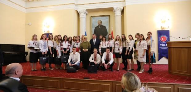 Emine Erdoğan Ukrayna'da TİKA Projelerini Açtı - 11