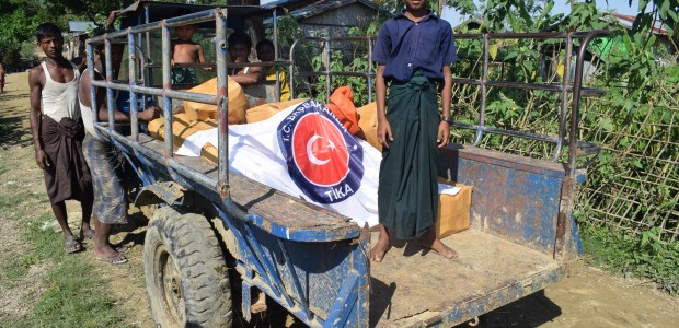TİKA Continues to Deliver Aid to Rohingya Muslims in Myanmar - 6