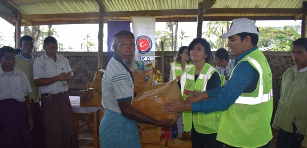 TİKA Continues to Deliver Aid to Rohingya Muslims in Myanmar - 7