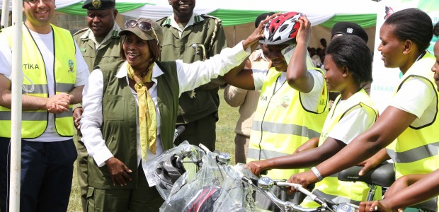 "TİKA Supports Girls Education through ""Wheels of Empowerment"" Project in Kenya - 1"