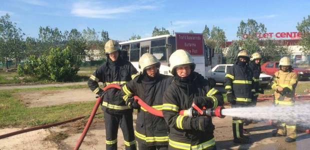 Support for Colombian Firefighters by TİKA - 6